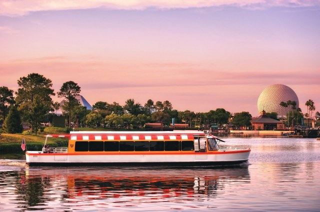 A Beautiful Evening on World Showcase Lagoon