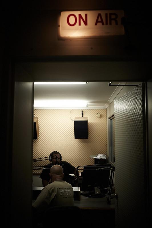 Broome, Live Interview at 99.7 FM, Radio Goolarri