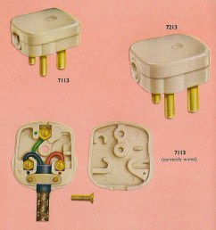 correctly wiring your crabtree three pin plug in 1962 flickr correctly wiring your crabtree three pin [ 993 x 1024 Pixel ]