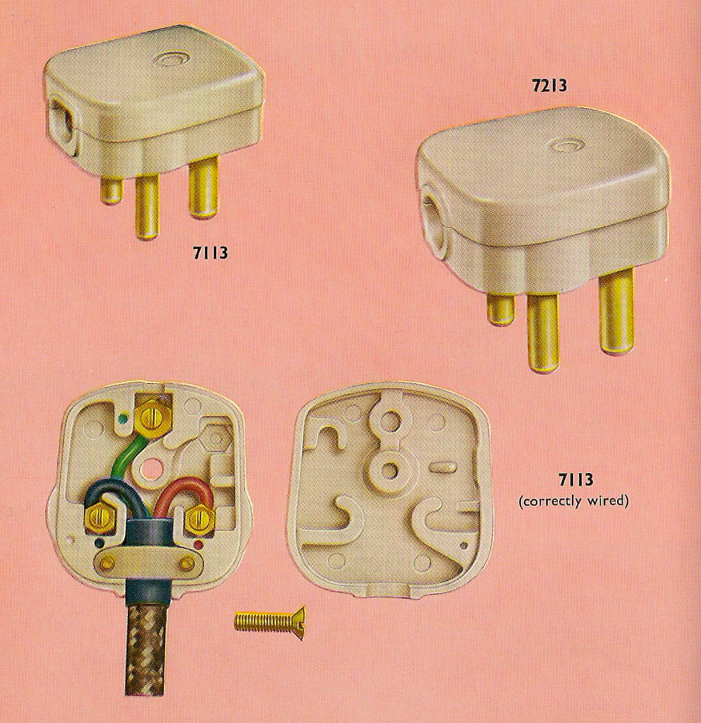 medium resolution of correctly wiring your crabtree three pin plug in 1962 flickr correctly wiring your crabtree three pin