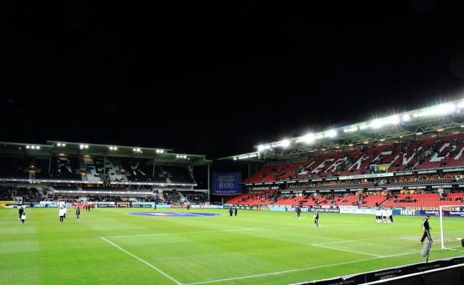 Lerkendal Stadion Minutes Before The Rosenborg Vs Brann