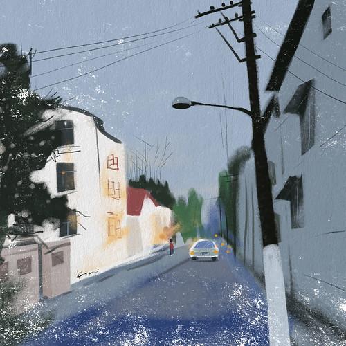 2011.11.25 | 總是在陌生的城市迷了路,才能看見這城市的模樣。2011.11.25 | kori song | Flickr