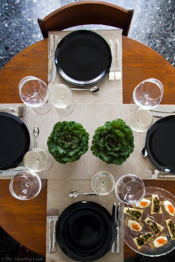 Potato Salad & Herring Canapés – Ορεκτικό με Πατατοσαλάτα και Ρέγκα