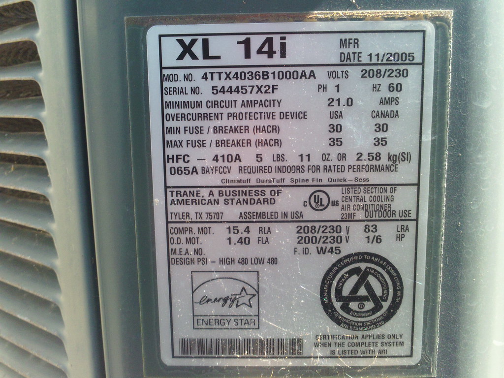 hight resolution of trane xl14i at the beach house fedders airdude flickr trane furnace wiring diagram trane xl14i at