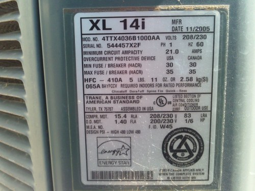 small resolution of trane xl14i at the beach house fedders airdude flickr trane furnace wiring diagram trane xl14i at