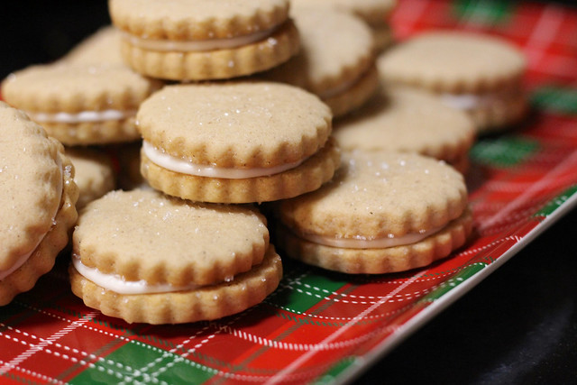 Eggnog Sandwich Cookies - 36