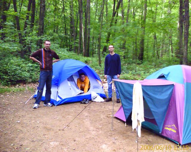 camping at jenny jump