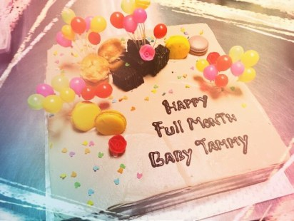 Baby Tommy's Full Moon Cake