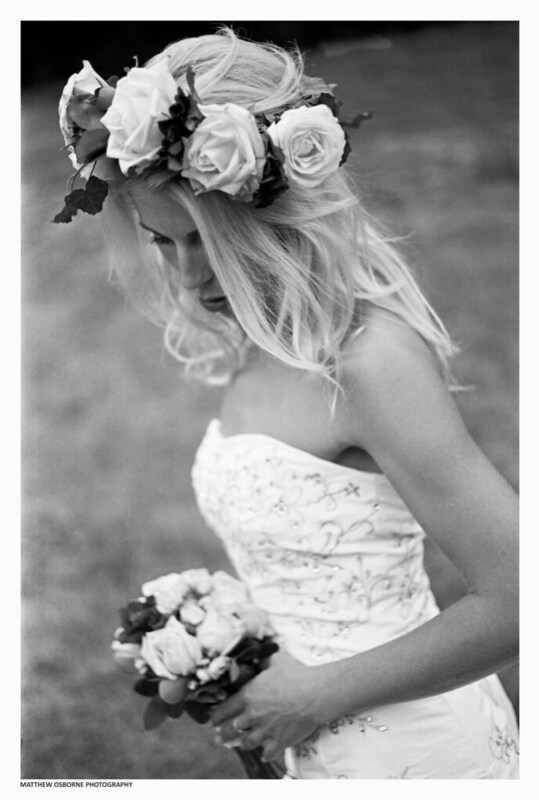 Black and White Bridal Shoot