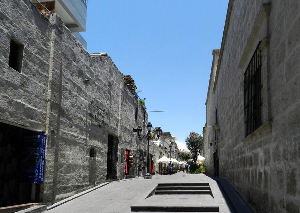 Arequipa casco histórico Perú 17