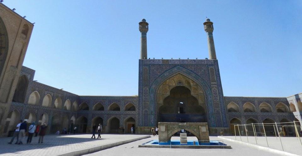 Mezquita de Jame o del Viernes en Isfahán Irán 07