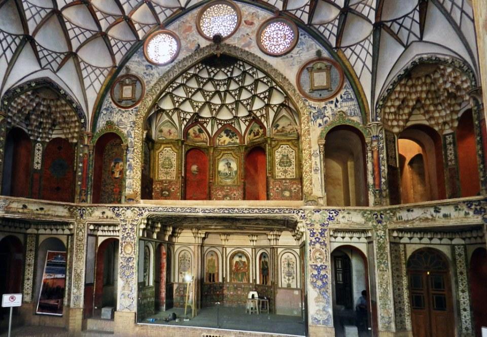 Casa de Boroujerdi Kashan Iran 08