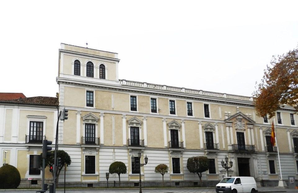 edificio exterior Palacio Real Valladolid 01