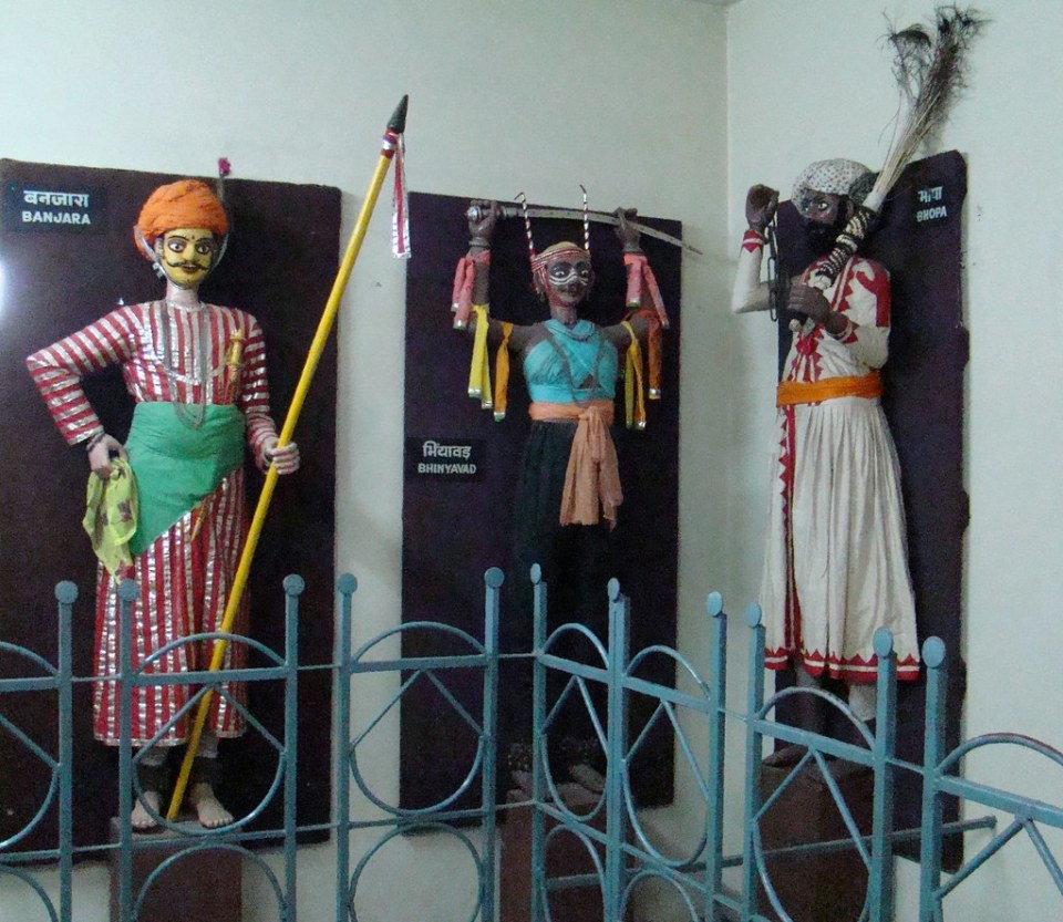 India Udaipur Museo Marionetas Mandal Bhastiya Lok 53