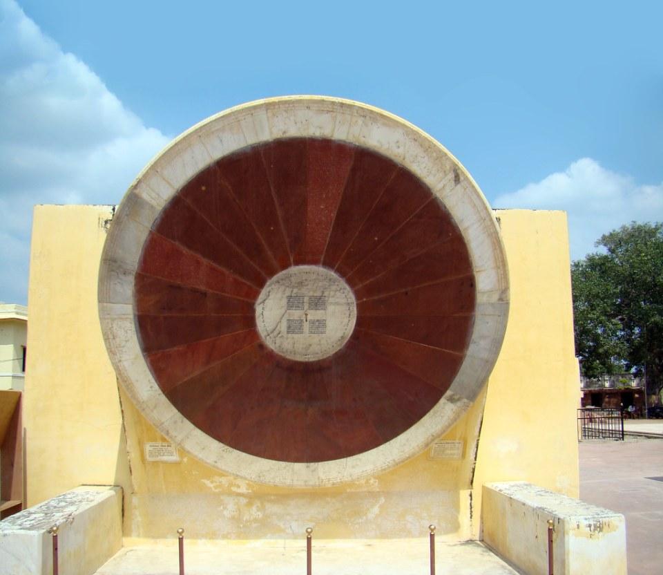 Jaipur Observatorio astronómico Jantar Mantar La India 06