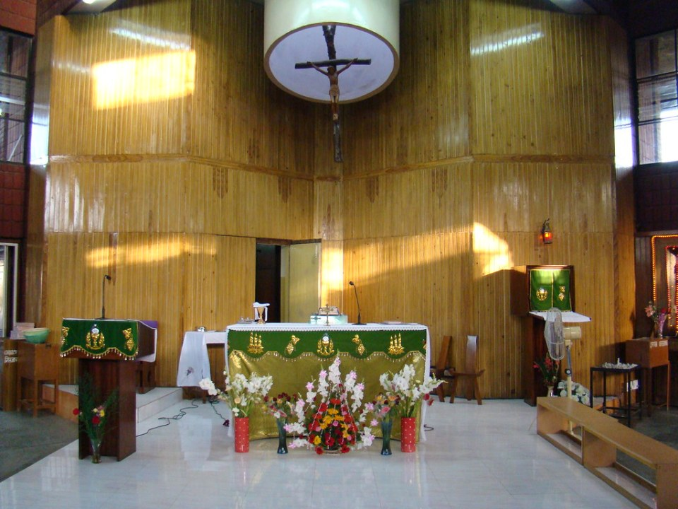 India Delhi Iglesia Católica San Jorge 03