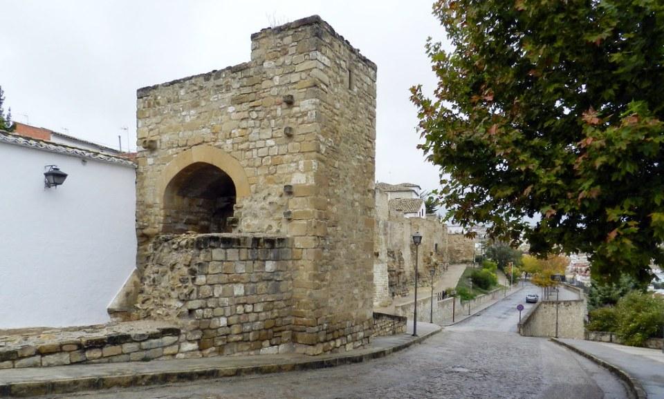 Ubeda Puerta de Santa Lucia de Muralla Jaen 06
