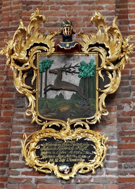 Escudos Heráldicos Iglesia Luterana de San Pedro Riga Letonia 02