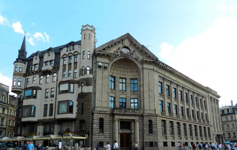edificio Plaza de la Catedral Dome Laukums Riga Letonia 04