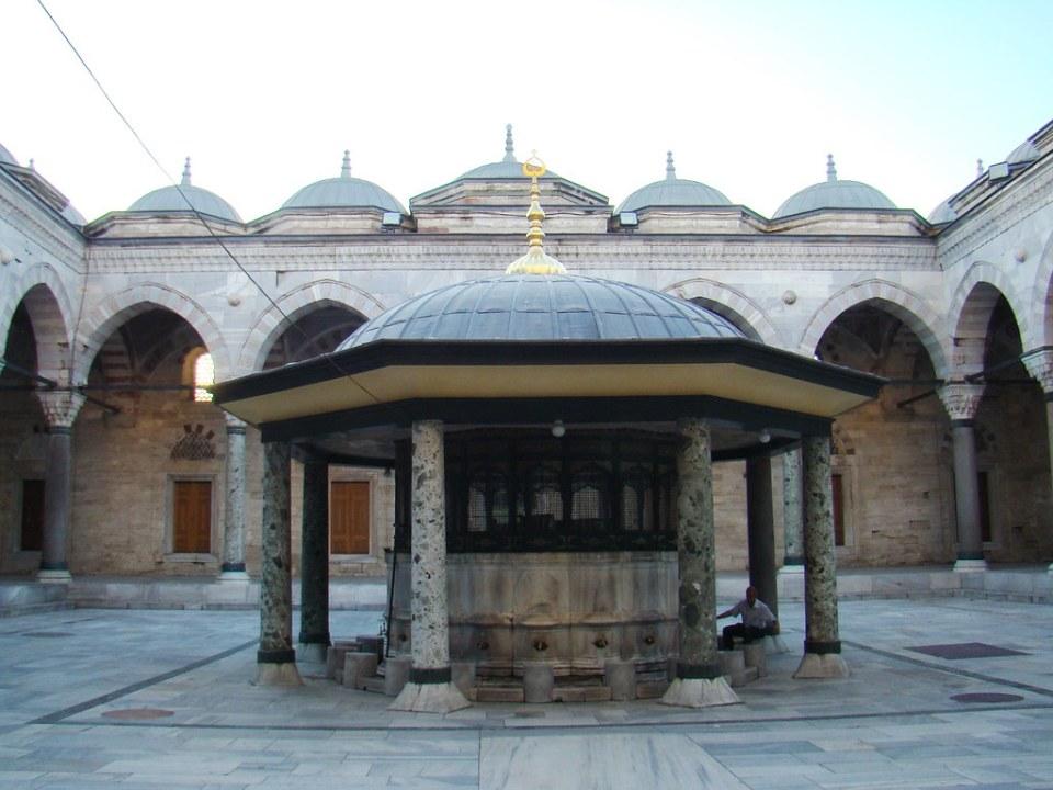 patio Mezquita Beyazit Estambul Turquia 25