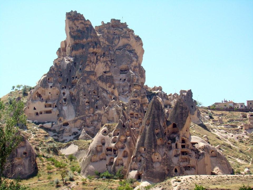 Castillo de Uchisar Capadocia Turquia 03
