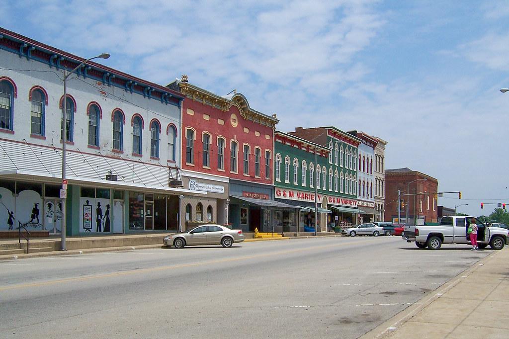 US 36, Rockville, IN.