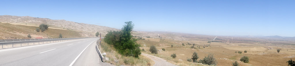 Proper sparse cycling across the Anatolian plain for a good few days