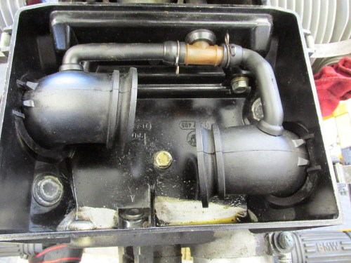 Inside of Air Box-Solenoids Previously Removed