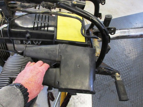 Air Box Snorkel With Snorkels Removed