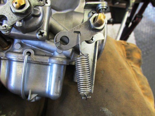 Reattach Throttle Return Spring