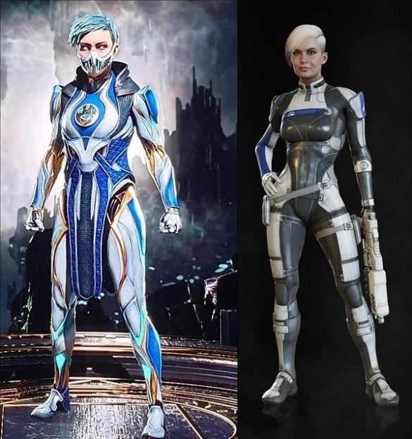Mortal Kombat 11 - Frost vs Mass Effect Andromeda