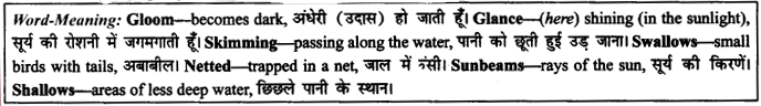 NCERT Solutions for Class 9 English Literature Chapter 6 The Brook 15
