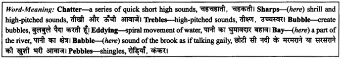 NCERT Solutions for Class 9 English Literature Chapter 6 The Brook 9