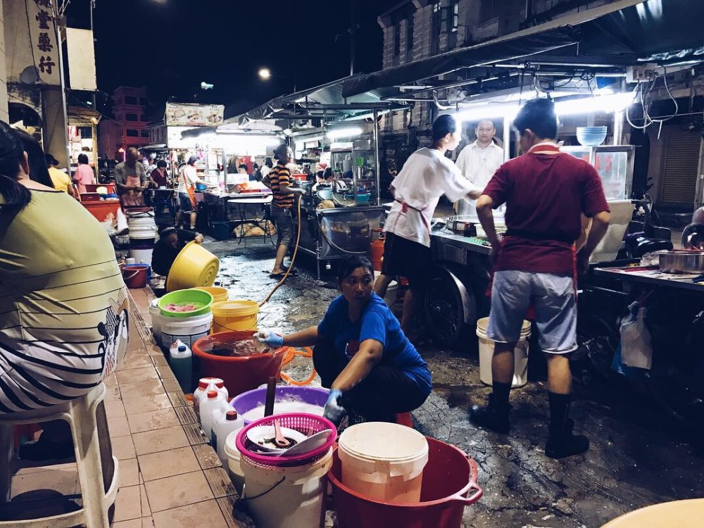 21 March 2019: Chulia Street Night Hawker Stalls
