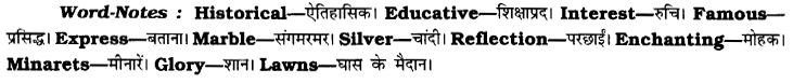 CBSE Class 8 English Paragraph Writing 9