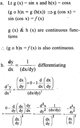 Plus Two Maths Chapter Wise Previous Questions Chapter 5 Continuity and Differentiability 35