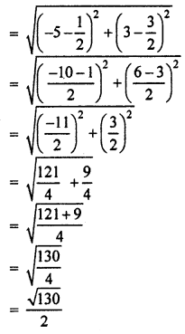 RBSE Solutions for Class 10 Maths Chapter 9 Co-ordinate Geometry Q.19.6