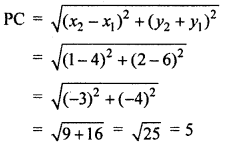 RBSE Solutions for Class 10 Maths Chapter 9 Co-ordinate Geometry Q.16.2