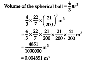 NCERT Solutions for Class 9 Maths Chapter 13 Surface Areas and Volumes Ex 13.8 Q2a