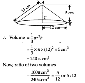 NCERT Solutions for Class 9 Maths Chapter 13 Surface Areas and Volumes Ex 13.7 Q8