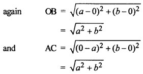 RBSE Solutions for Class 10 Maths Chapter 9 Co-ordinate Geometry 4Q.11.2