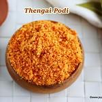 Thengai podi recipe