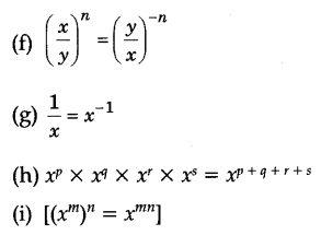Exponents and Powers Class 8 Notes Maths Chapter 12 2
