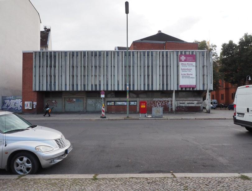 Berlin – Offene Kirche, Lagerhaus