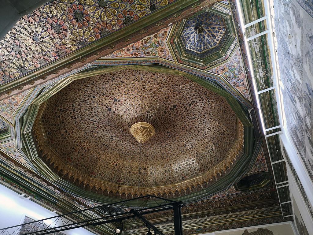 cupula interior sala de Susa Museo Nacional del Bardo Tunez