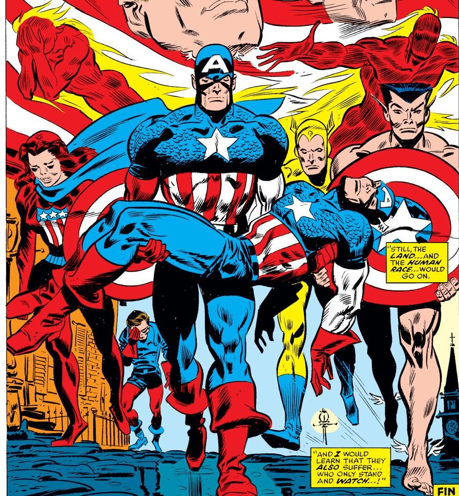 《終局之戰》後,獵鷹扛起美隊之盾! 「美國隊長」特別專題:漫畫原作中歷代成為美國隊長的角色介紹 ...