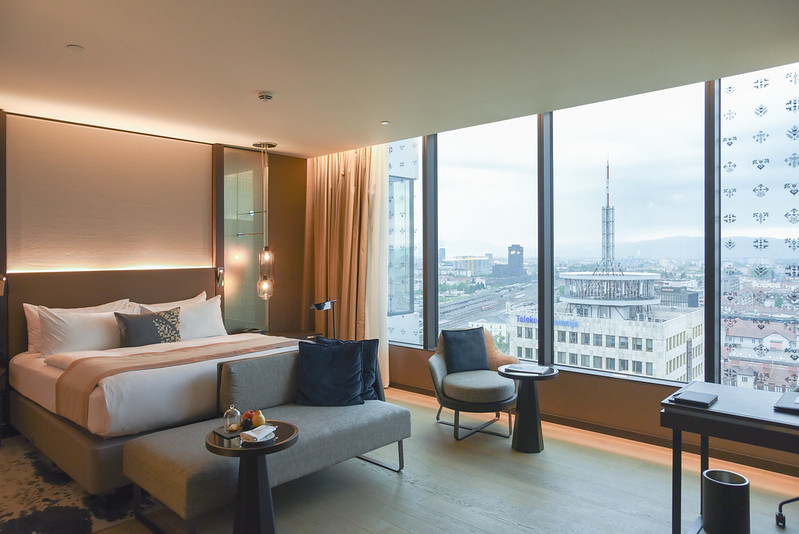 intercontinental ljubjlana king club room view