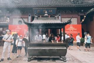 Daoist temple, Cheng Huang temple (城隍廟) in Yuyuan(豫園), Shanghai