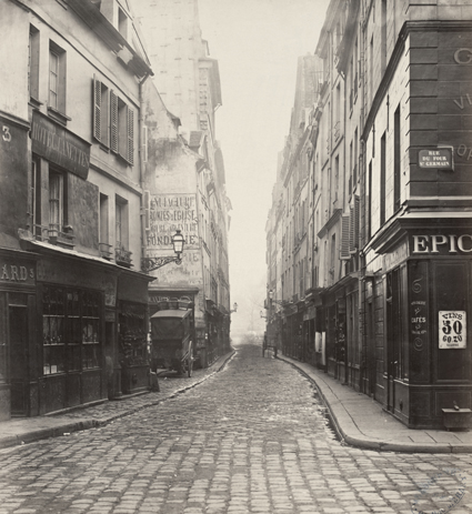 Charles Marville Rue des Canettes_ca _1853 70 Uti 425