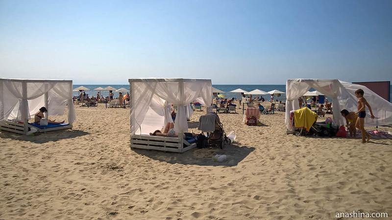 Янтарный пляж, Янтарный, Калининградская область